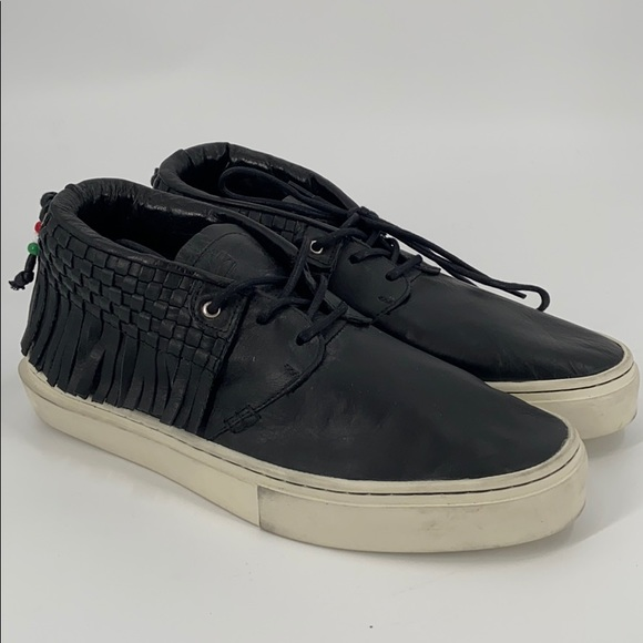 The one o Leon leather clear weather sneakers
